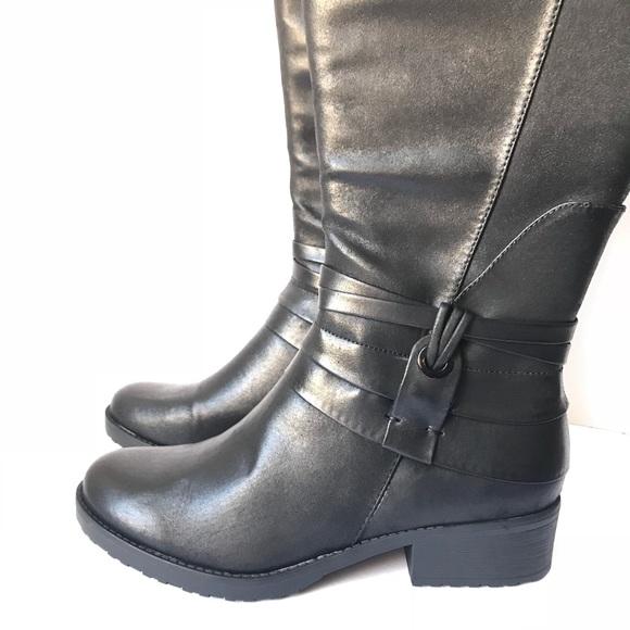 17a2f9d6c7df4 BareTraps Shoes | Oudrey Wide Calf Riding Boots | Poshmark